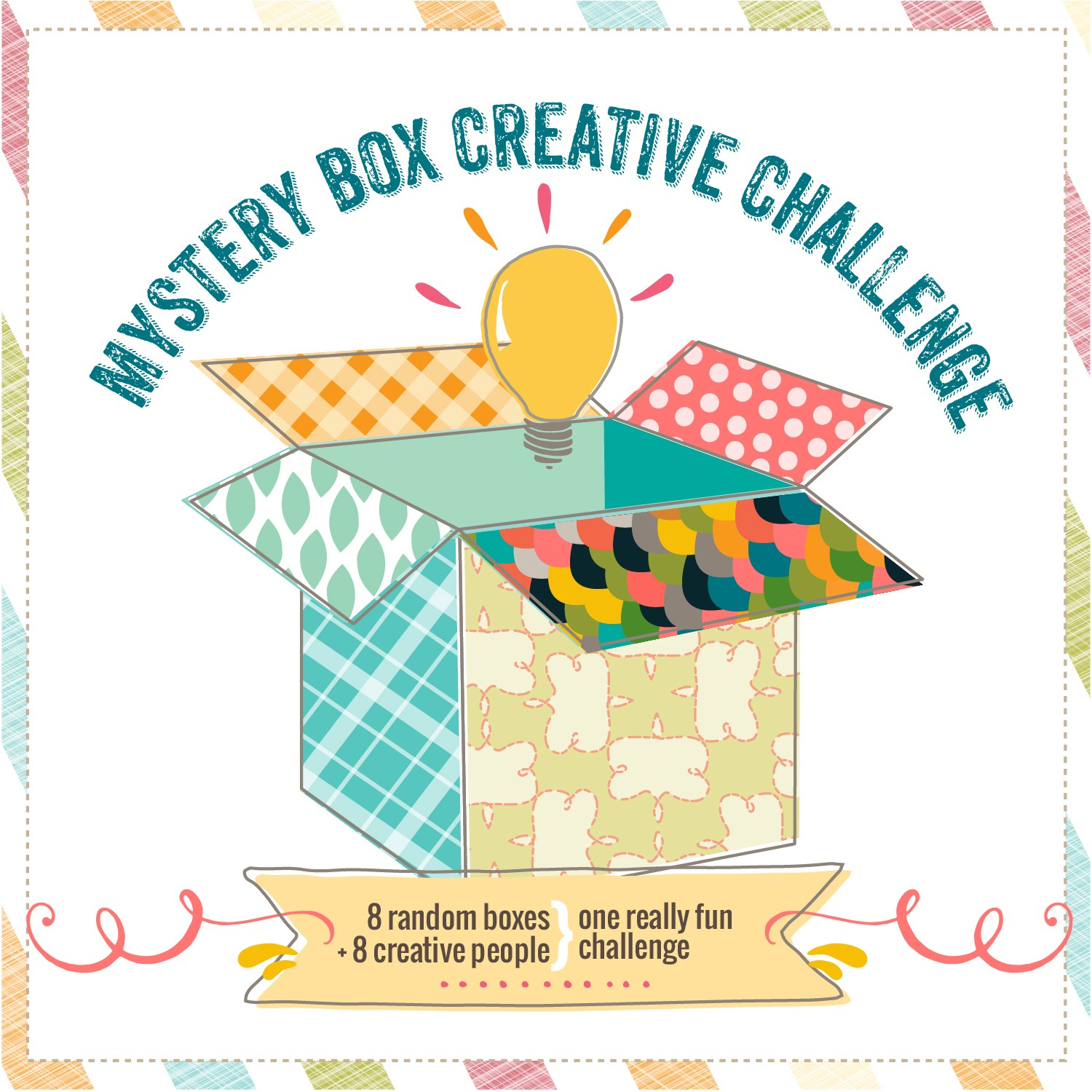Mystery Box Creative Challenge. Click to see 9 bloggers transform a surprise piece of decor from another blogger and get inspired for Christmas!