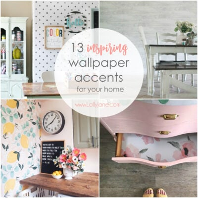 13 Inspiring Wallpaper Accents for Your Home