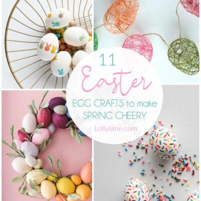 11 Easter Egg Crafts for Easy Spring Decor