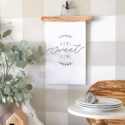 """Home Sweet Home"" Printable Farmhouse Art"