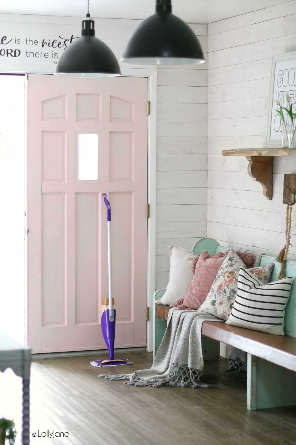 Take care of your wood floors with these simple tips! #swiffer #woodfloors #iheartwoodfloors