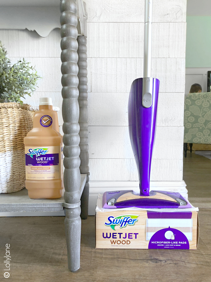 Love me some lazy summer days playing indoors but don't love the messes on my wood floors, so glad to have @Swiffer WetJet Wood in my cleaning arsenal to tackle clean up✨🧽 Available at @Walmart! #IHeartWoodFloors