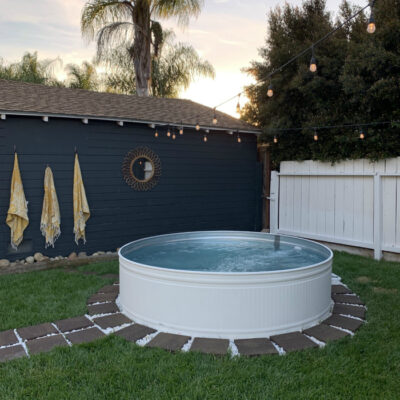 7 DIY Stock Tank Pool Ideas to Keep Cool!
