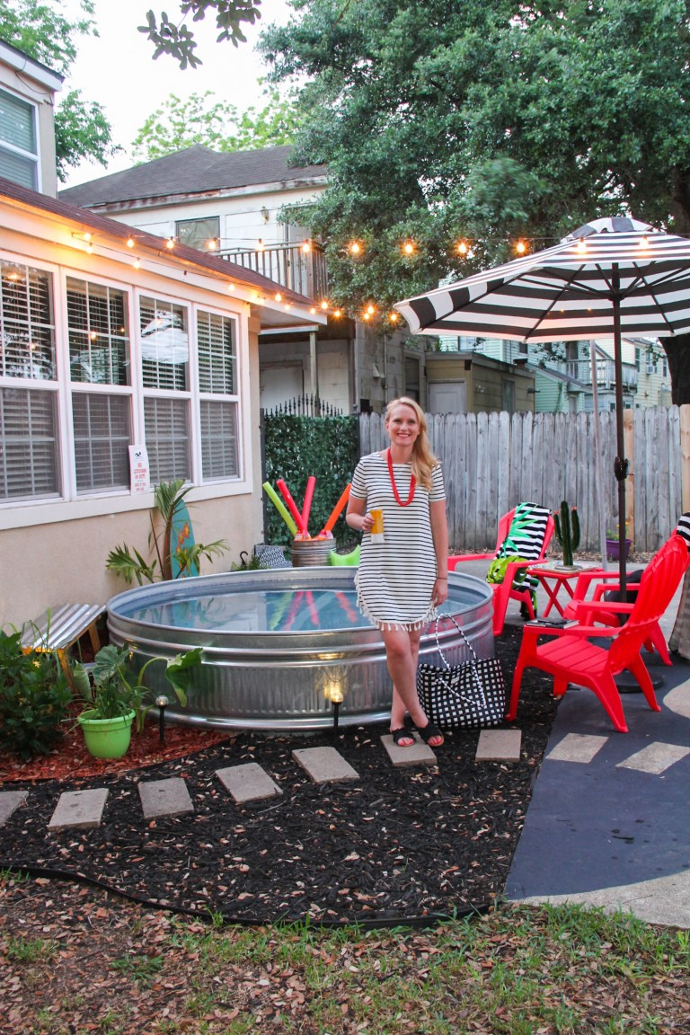 7 Diy Stock Tank Pool Ideas To Keep Cool Lolly Jane