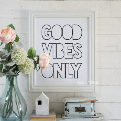 How To Print Printables For Easy Wall Art, Decor, Checklists + More!