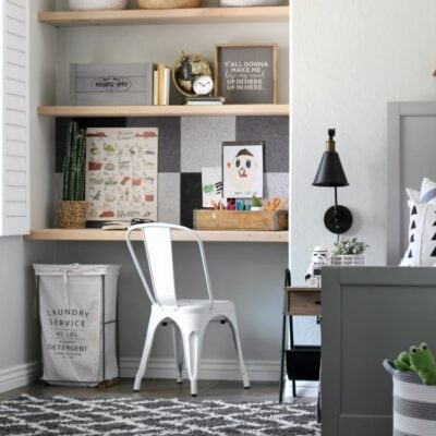 easy modern farmhouse bulletin board