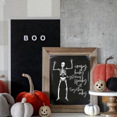 Addams family print