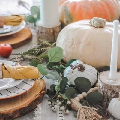 easy fall table decorating ideas