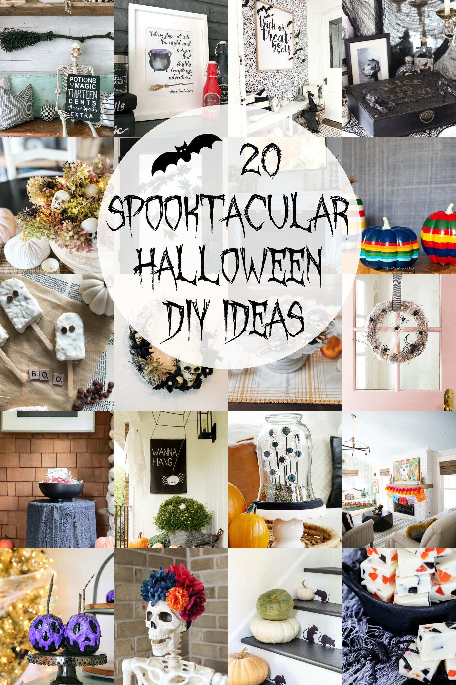 20 Spooktacular Halloween DIY Ideas