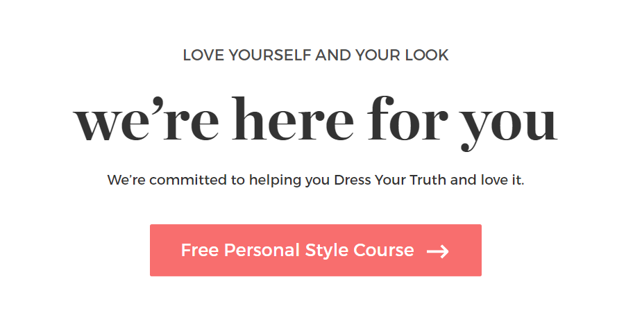 The Beginners Guide shows you how to pick specific clothes, style your hair the right way and even select makeup that highlights the real you.Best part? The guide is free to watch, start to finish. #dyt #dressingyourtruth #energytype #howtodressyourself