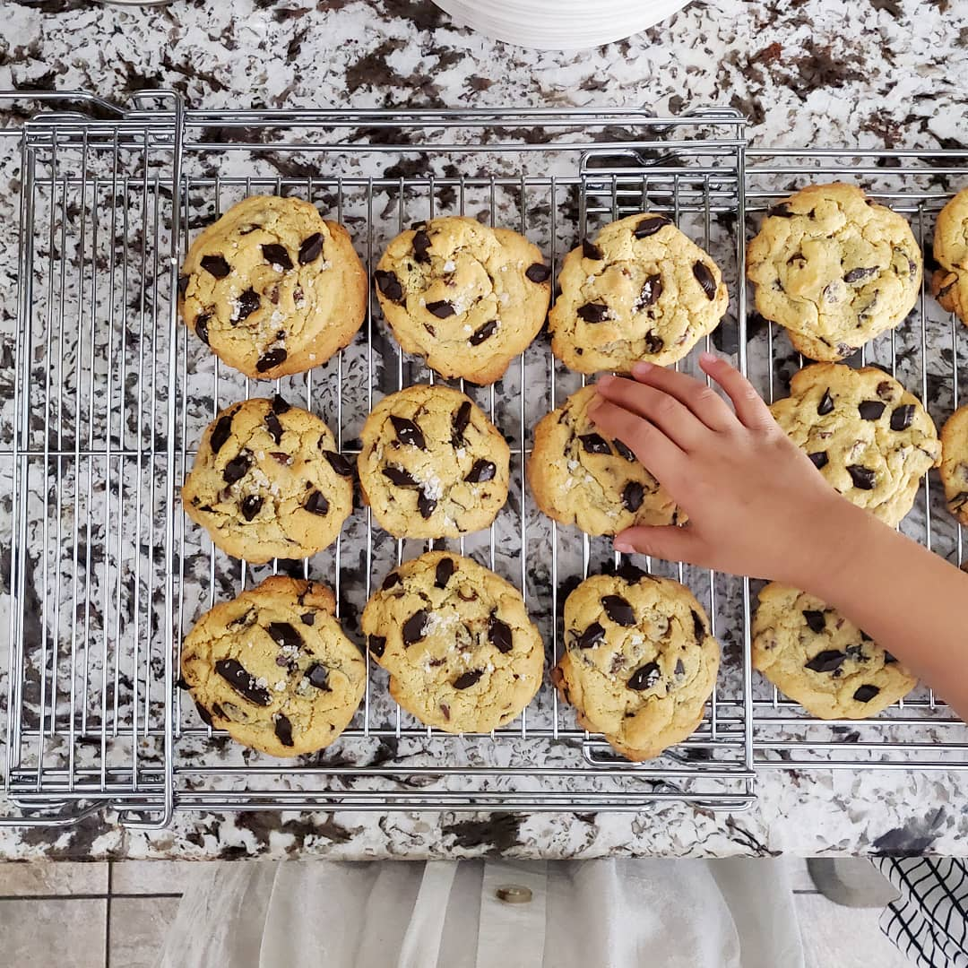 Feel royally spoiled with special treatment and details like FRESHLY baked cookies while at the KB Home Design Studio! #KBHome #ArizonaHomeBuilder #AZcommunity #neighborhood #newbuild #custombuilt #newhome