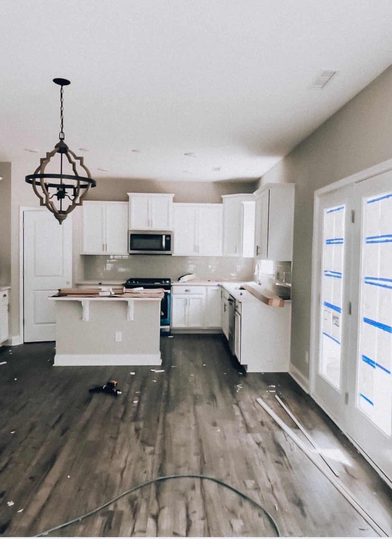 Progess shot of a modern farmhouse new build by KB Home! #KBHome #ArizonaHomeBuilder #AZcommunity #neighborhood #newbuild #custombuilt #newhome