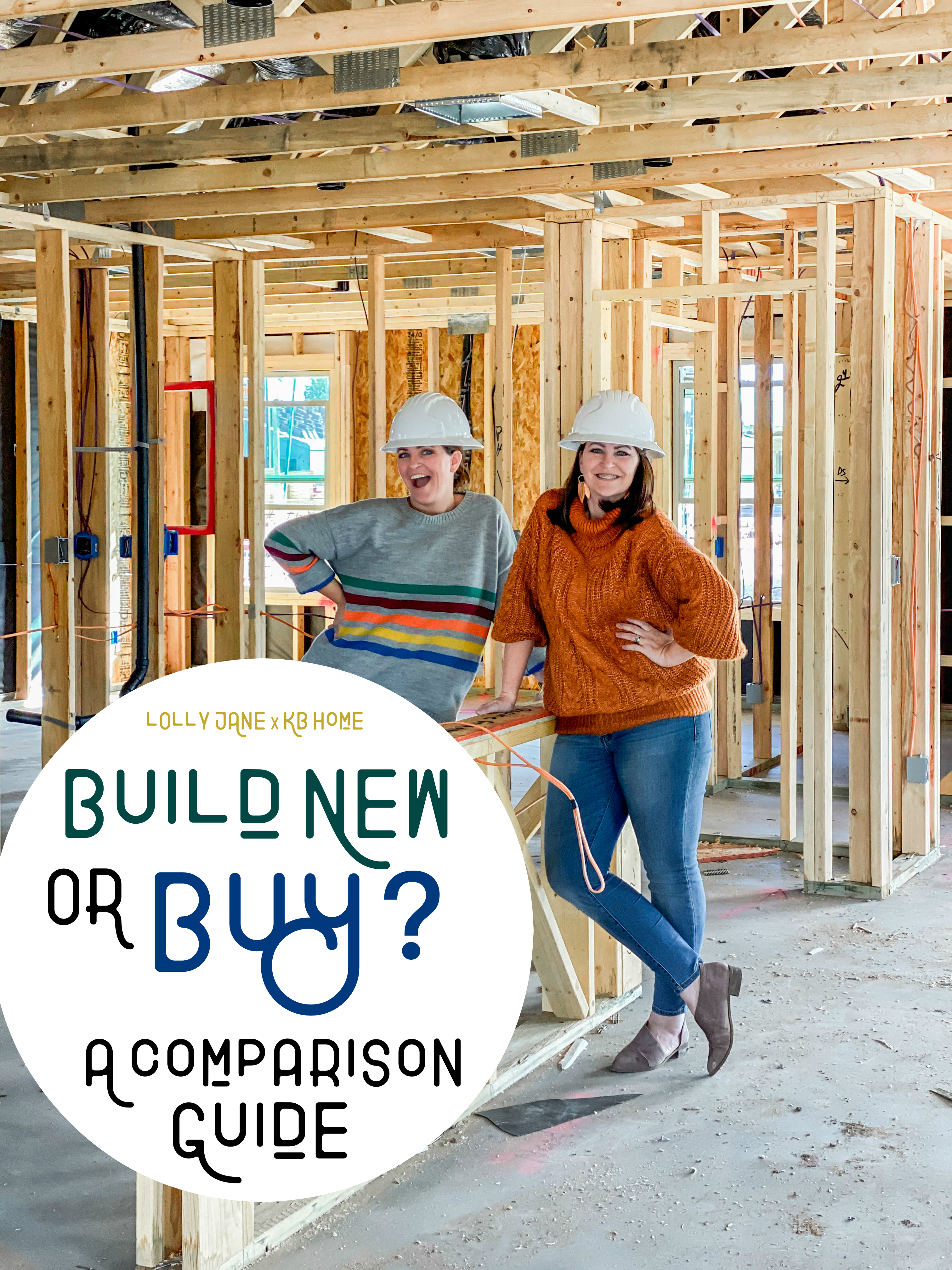 Considering BUILDING with a home builder vs. BUYING resale? Read on for our comparison! #newhome #welcomehome #KBHomes #KBHome