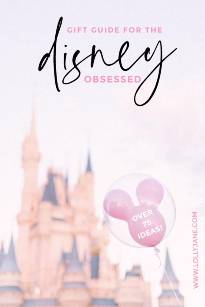 The ultimate gift guide for Disney lovers! Over 75 affordable ideas for the Disney fan in your life! #disneyfan #disneygiftideas #uniquedisneyideas #amazondisneyideas #amazondisneygiftguide #disneyobsessed #holidaygiftguidefordisneylovers