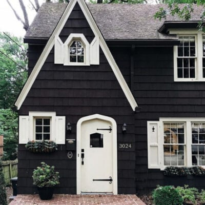 Trending: Dark Exterior Paint Colors