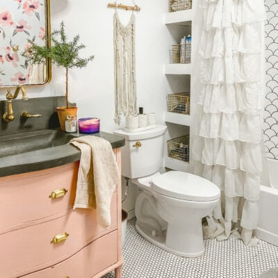 easy bathroom organization ideas