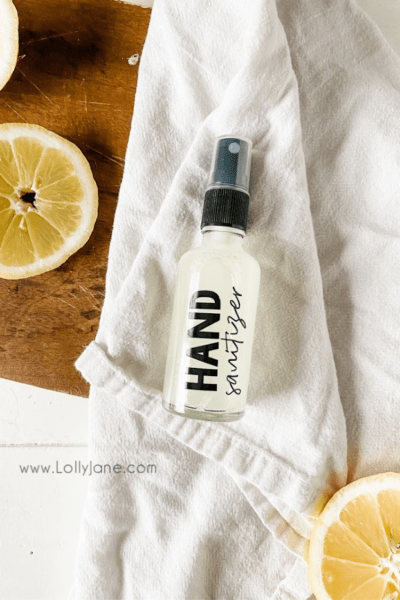 Easy hand sanitizing recipe to put in a spray bottle. Great for shopping to wipe down carts, keep in your car, carry in your purse, use daily to keep germs away easily! #easyhandsanitizingrecipe #handsanitzingrecipe #howtomakehandsanitizer #handsanitizerspray #easyhandsanitizingspray #onguardhandsanitizer