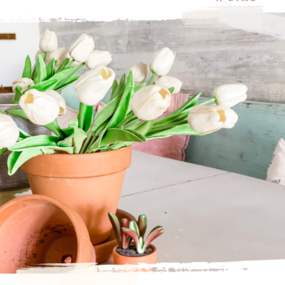 Spring Decor: Decorating with Tulips