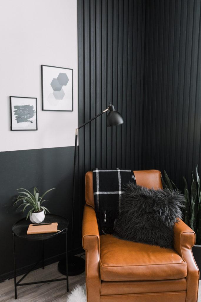 wood slats wall diy