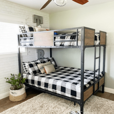 Industrial Bunk Bed That Can Handle Teen Boys!
