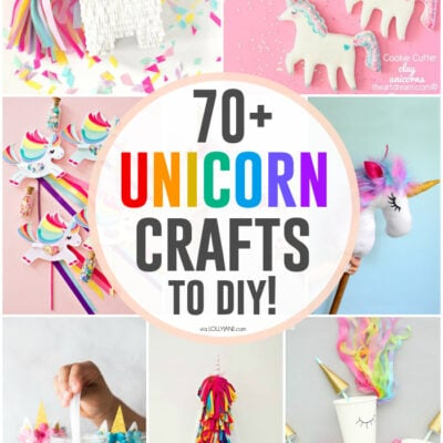 The ultimate list of DIY unicorn crafts + projects!