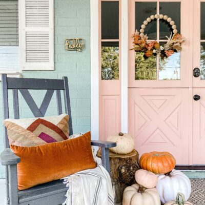 Easy Fall Porch Decoration Ideas