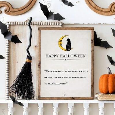 When Witches Go Riding Halloween free printable
