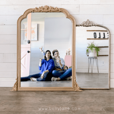 DIY Anthropologie Inspired Mirror