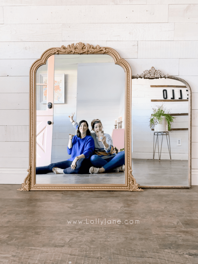 Diy Anthropologie Inspired Mirror Lolly Jane