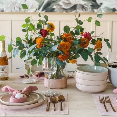 Easter Table Scape Ideas