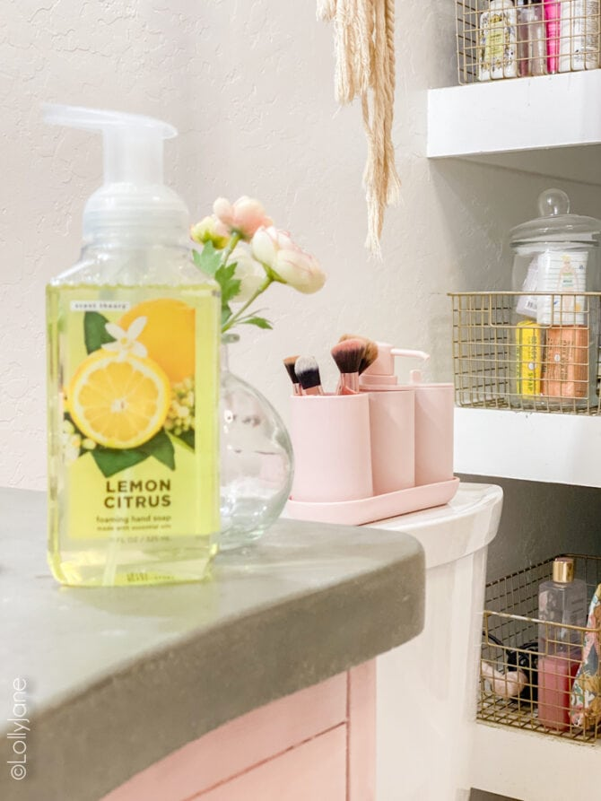 Coastal Summer Bathroom Ideas sure to cheer up your bathroom space all summer long... and it's all from Walmart! So chic and easy to get your hands on thesr cute goods!