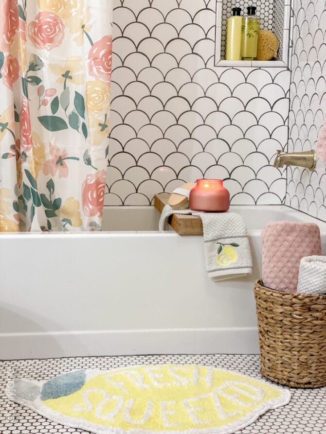 Walmart home is killing me with all of this CUTENESS OVERLOAD! Stock up on these darling items to spruce up your summer bathroom!