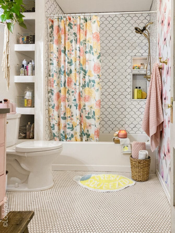 Stop it, cutest coastal Summer Bathroom Ideas sure to cheer up your bathroom space all summer long! Fun deals from Walmart marketplace, love the lemons!