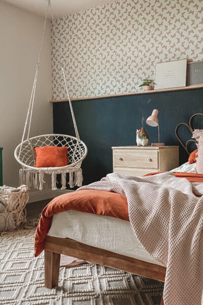 Bohemian style guest bedroom, so cute but also doubles as a guest bedroom- love these hostess must do's and haves!
