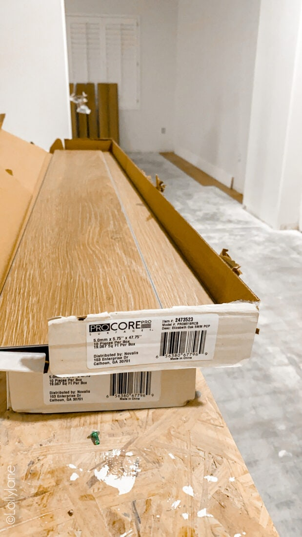 LVP Flooring, so pretty installed and so easy to do-it-yourself! Click on pic to see more!