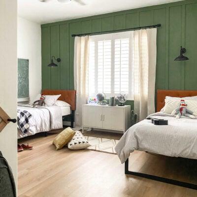 Modern Farmhouse Boys Bedroom